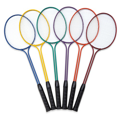 MAC-T Double Shaft Badminton Racket