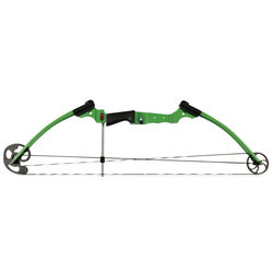 Genesis Compound Bow, Left-Handed - Green