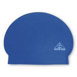 Latex Swim Cap - Blue