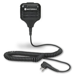 Speaker with Push-to-Talk Microphone