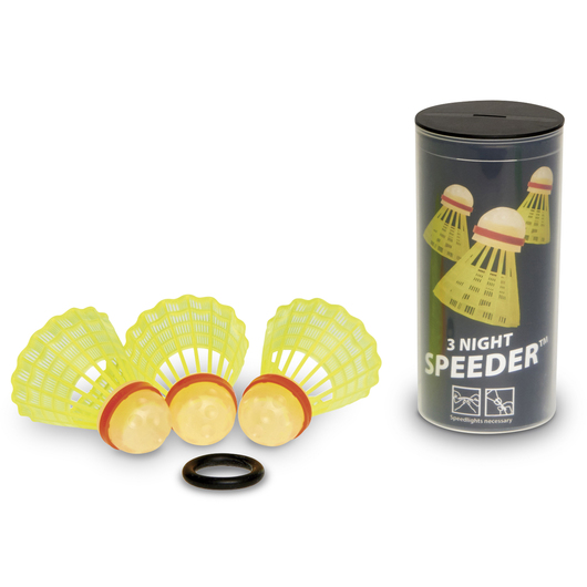 Speedminton® Night Speeders® - Set of 3