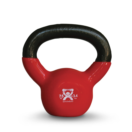 Cando® Kettlebell - 7-1/2 lbs. - Red