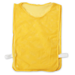 Youth-Size Mesh Pinnie - Yellow