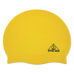 Silicone Swim Cap - Yellow