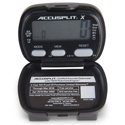 ACCUSPLIT AX2790 Ultra-Thin Accelerometer Pedometer