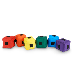 MAC-T Cannon Cubes with Hook-and-Loop - Set of 12