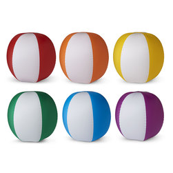 MAC-T Heavy-Duty Beach Balls - 24 in., Set of 6