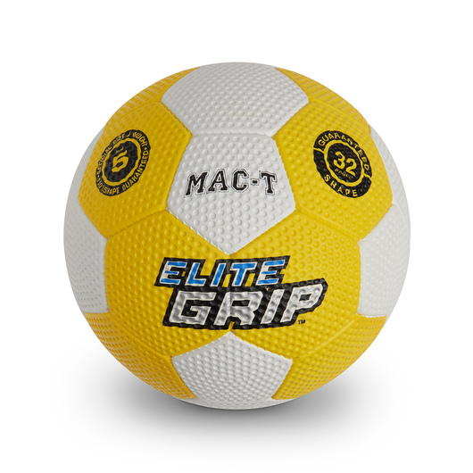 MAC-T® Elite Grip™ Colored Soccer Ball - Size 5 - Yellow