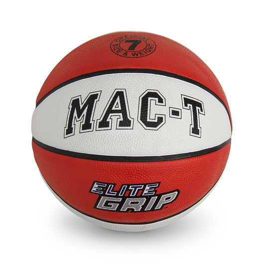 MAC-T® Elite Grip™ Basketball - Junior Size 5 - Red