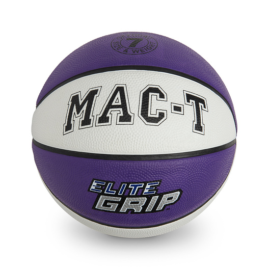 MAC-T® Elite Grip™ Basketball - Junior Size 5 - Purple
