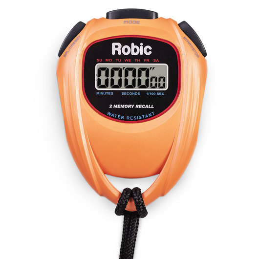Robic® SC429 Individual Stopwatch - Orange