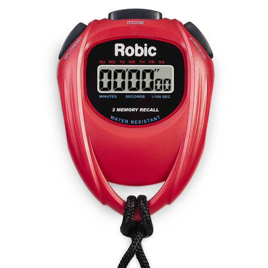 Robic® SC429 Individual Stopwatch - Red