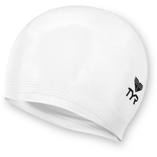TYR® Latex Swim Cap - White