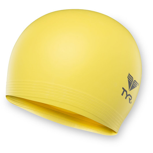 TYR® Latex Swim Cap - Yellow