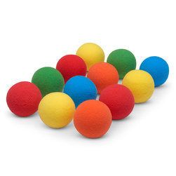 Uncoated Foam Balls