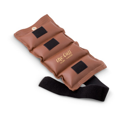 The Cuff® Ankle and Wrist Weights - Brown - 10-lb.