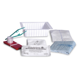 Dressing Change Tray with Abdominal Pad and Swabsticks