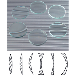 Lenses Demonstration - 50 mm Diameter - Set of 6