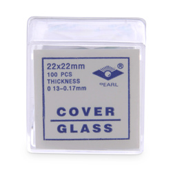 Square Micro Cover Glasses, No. 1