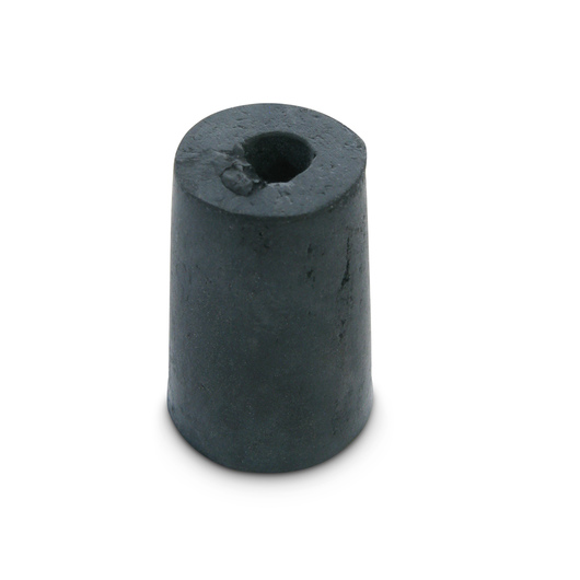 Rubber Stoppers - Size 0, One-Hole