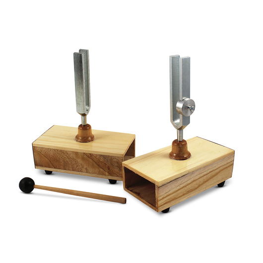 Resonant Tuning Forks Set