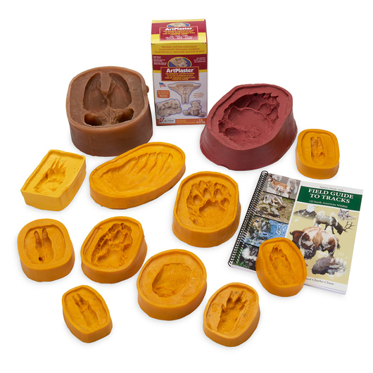 Nasco Track Mold Kit Volume 6 - Large and Exotic Animals
