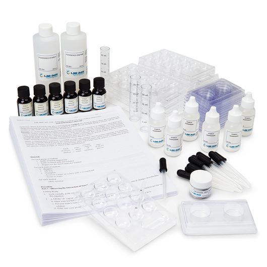 Enzyme Activity Study Kit - Lab-Aids® No. 25R