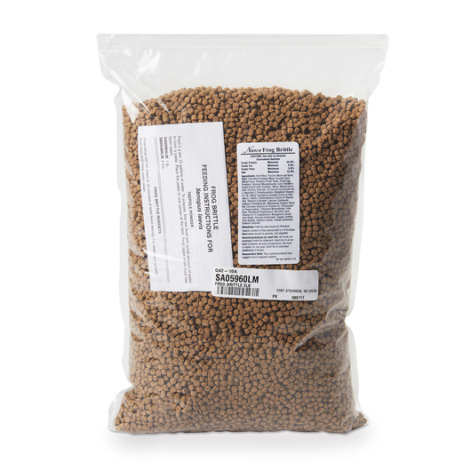 5 lbs. Nasco Frog Brittle (Large Nuggets) for Adult Xenopus