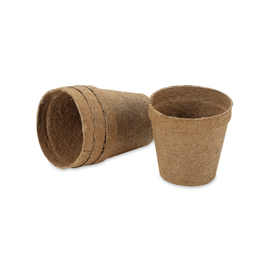 3 in. Round Jiffy® Peat Pots - Case of 1,404