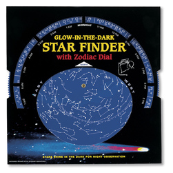 Luminous Star Finder with Zodiac Dial