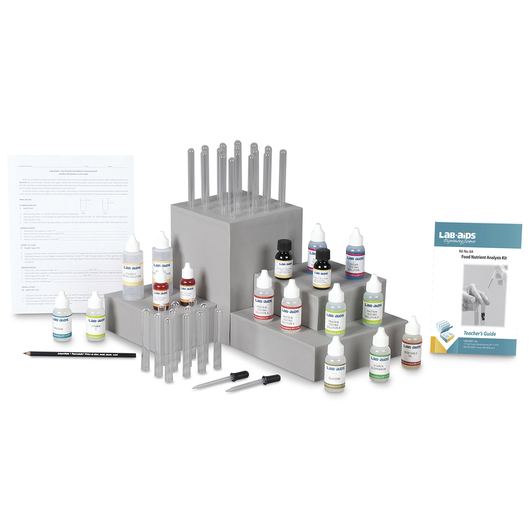 Food Nutrient Analysis Kit - Lab-Aids® No. 6A