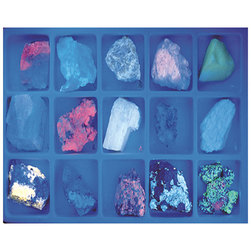 Fluorescent Minerals Collection - Long and Shortwave