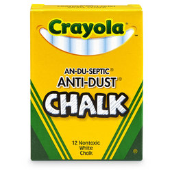 Crayola® White Anti-Dust Chalk