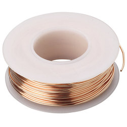 Series 2000 Type (BC) Bare Copper Bus Bar Wire - 4-oz. Spool, 20-Gauge (80 ft.)