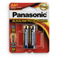 Size AA - Alkaline Plus Batteries