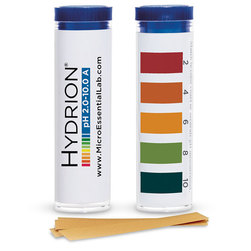 Hydrion pH Strips, Pkg. of 10 Vials