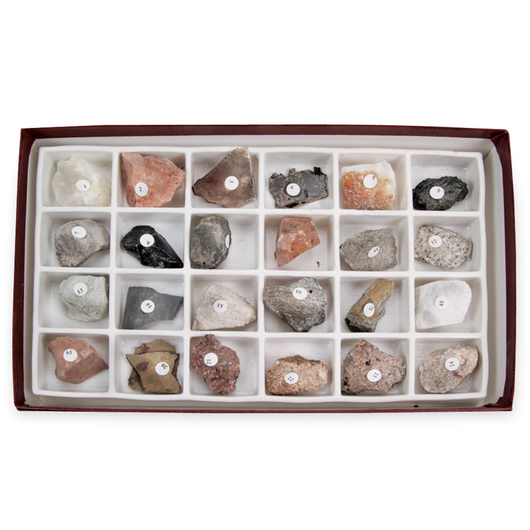 Rocks and Rock-Forming Minerals Collection