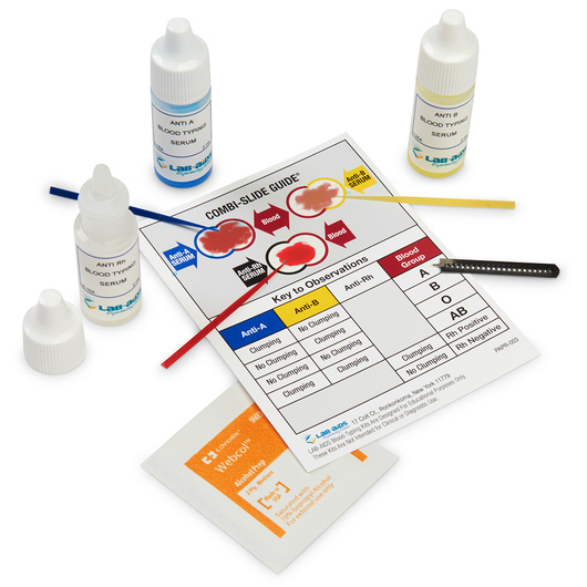 ABO-Rh Combination Blood Typing