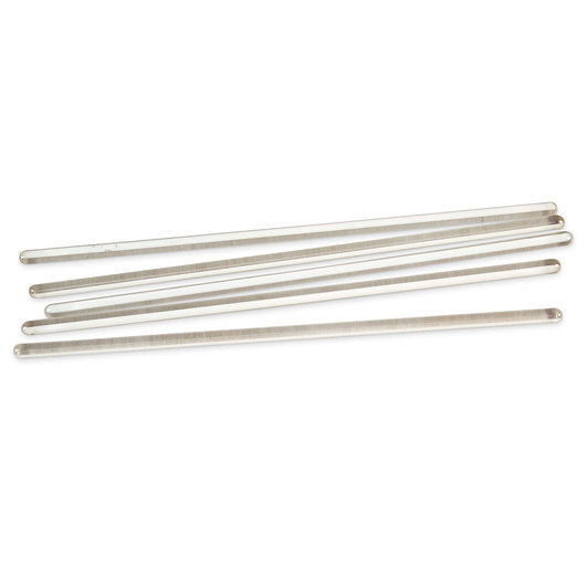 Stirring Rods - Glass with Length of 8 (20.3 cm), Diameter: 1/4 (5 mm)