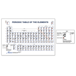 Nasco Periodic Table of the Elements Chart