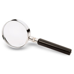 Round Glass Magnifier