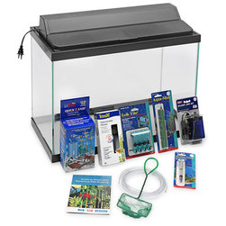 Bottom Filter Aquarium Set - 10 Gal.