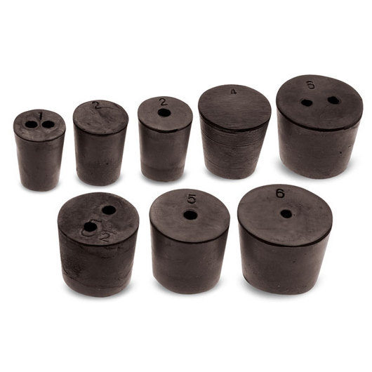 Rubber Stopper Assortment - Sizes 1- 6-1/2