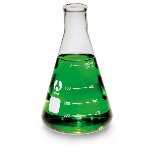 Erlenmeyer Economy Flask, Narrow Mouth - 500 ml