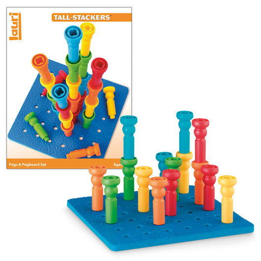 Pegs and Pegboard Set