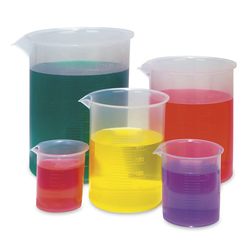 Graduated Plastic Beaker Set
