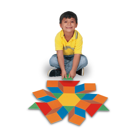 Giant Carpet Pattern Block Floor Tiles
