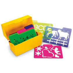 Essential Learning Products Stencil Kit - Set of 24