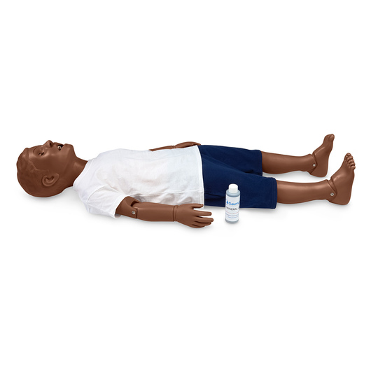 Gaumard® Mike® and Michelle® Pediatric Care Simulator - 5-Year-Old - 44 in. L - Dark