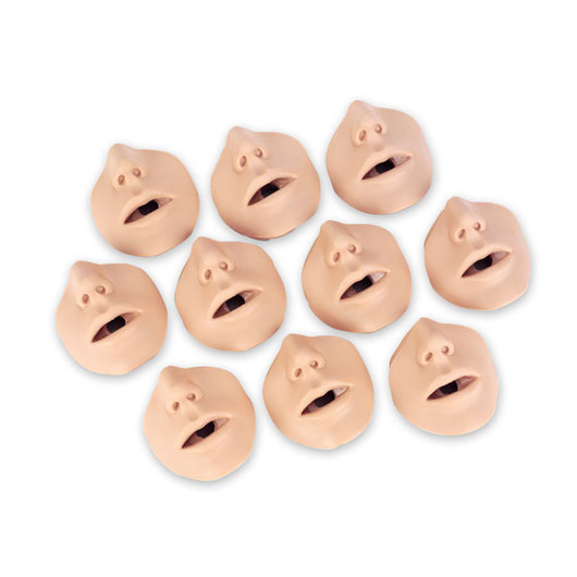 Mouth/Nosepieces for Brad™ Manikin - Pkg. of 10